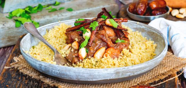 طريقة تحضير أكلات مغربية بالدجاج