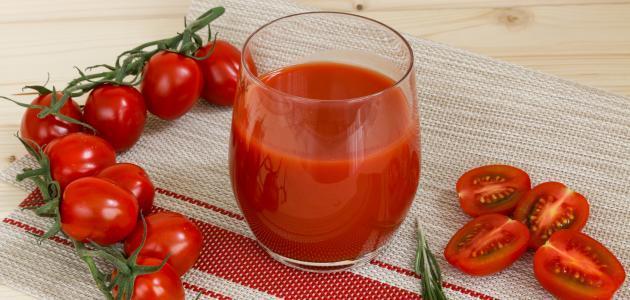 فوائد عصير الطماطم للرجيم