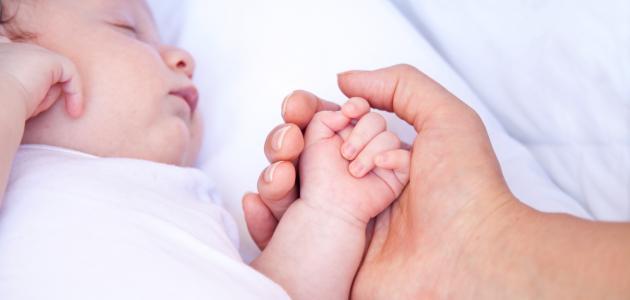 يبدأ الطفل مرحلة الرضاعة بمجرد