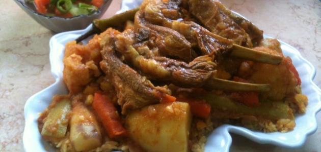 Modus operandi Libyan dishes