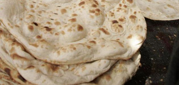 طريقة الخبز على الصاج