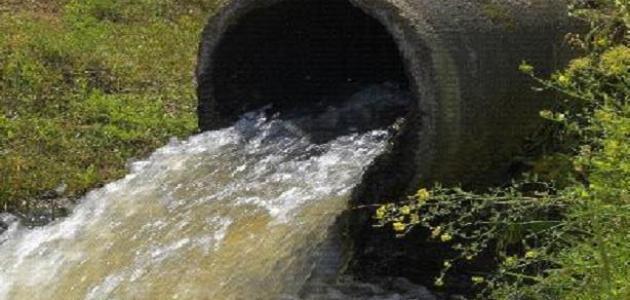 أسباب تلوث المياه الجوفية
