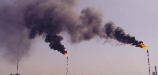 أسباب تلوث الماء والهواء موضوع