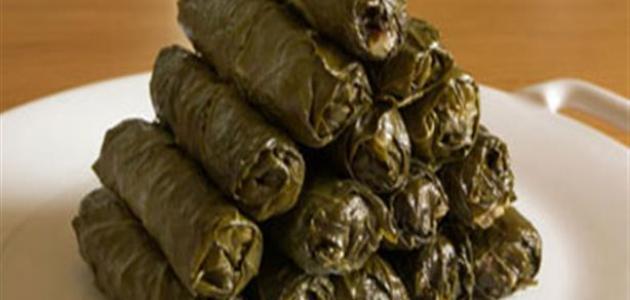 طريقة سلق ورق العنب الطازج
