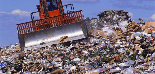 طرق التخلص من النفايات الصلبة