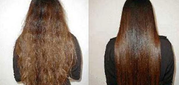 طريقة تمليس الشعر بالبيت