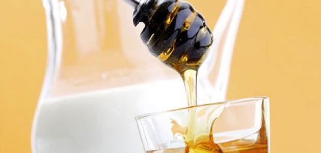 فوائد الحليب بالعسل قبل النوم