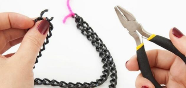طريقة صنع إكسسوارات يدوية