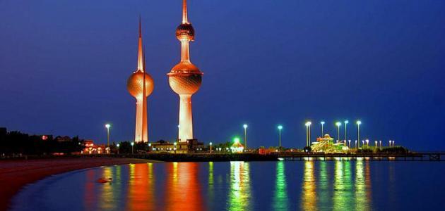 كم مساحة الكويت