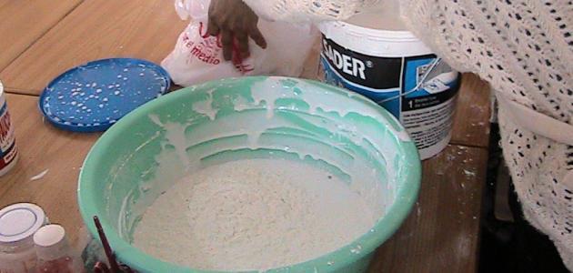 كيف تصنع عجينة السيراميك