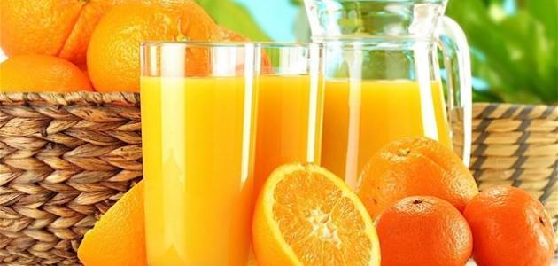 فوائد شرب عصير البرتقال للبشرة