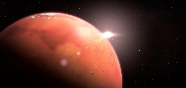 بحث عن كوكب المريخ