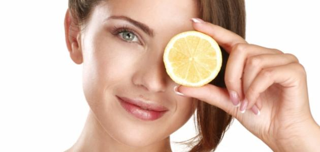 فوائد السكر والليمون للبشرة