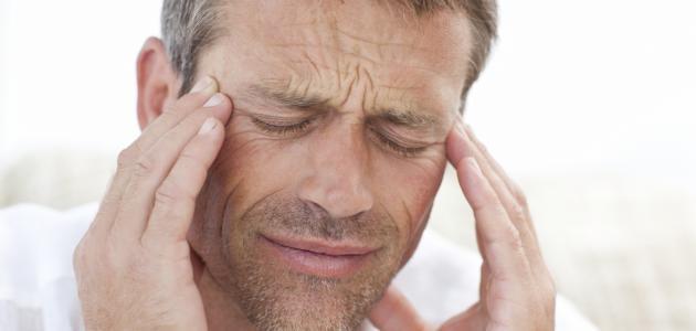 أعراض صداع ضعف النظر