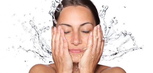 كيف أنظف وجهي