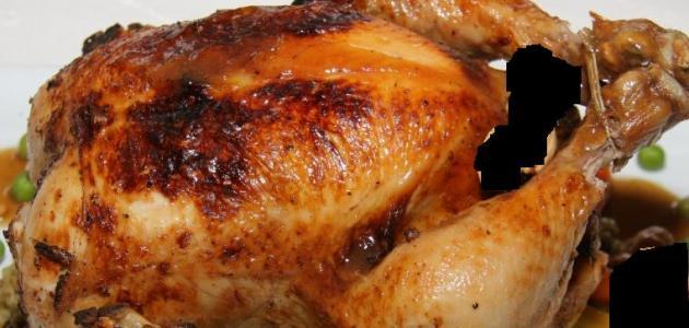 طريقة عمل دجاج محشي