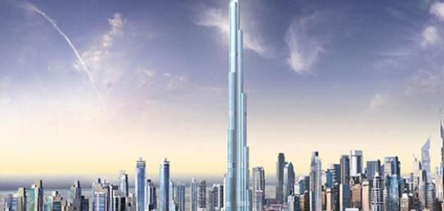كم طول برج خليفة