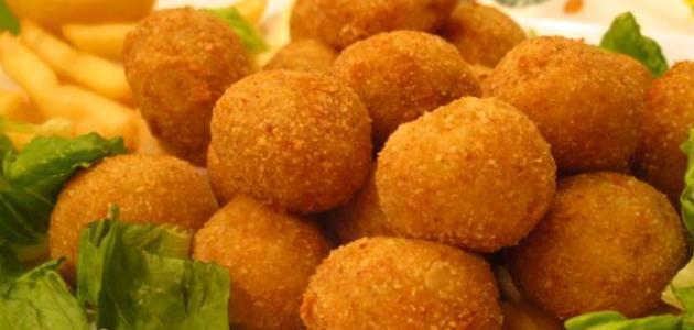 Modus operandi of the potato balls with cheese