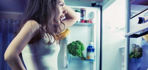 كيف أمنع نفسي من الأكل