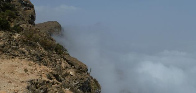 أين يقع جبل سمحان