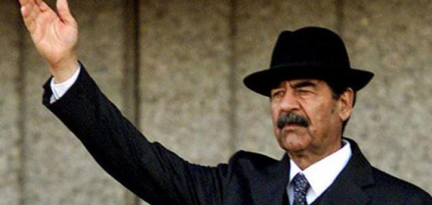 حياة صدام حسين منذ ولادته