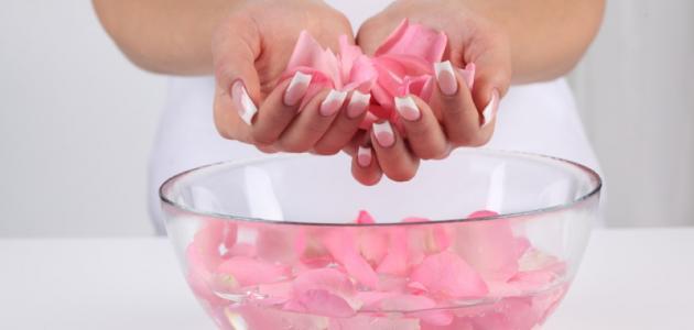 فوائد النشا وماء الورد