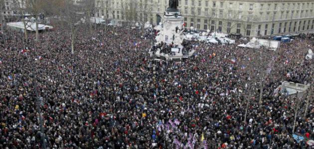 ما هو عدد سكان فرنسا