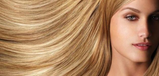 كيف نصبغ الشعر