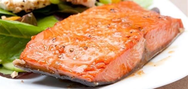 طريقة طبخ سمك السلمون