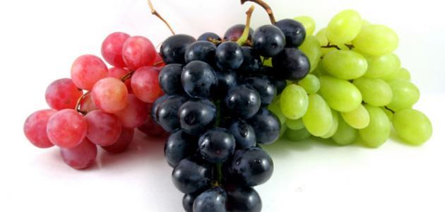 ما فوائد العنب