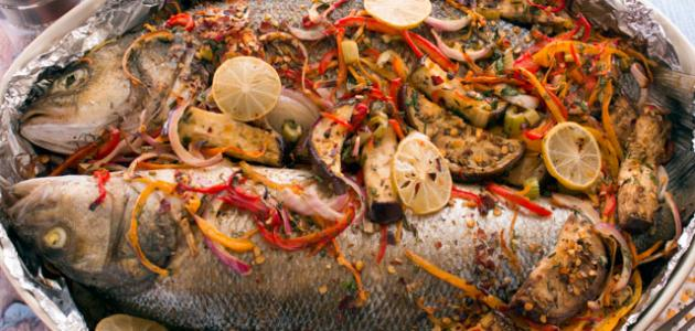 كيفية طبخ السمك