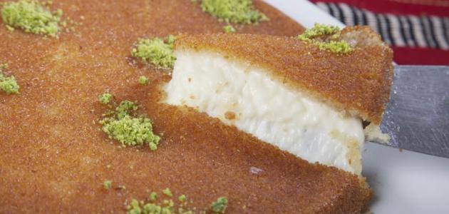 ما نوع الجبنة المستخدمة في الكنافة