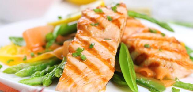 كيفية طهي سمك السلمون