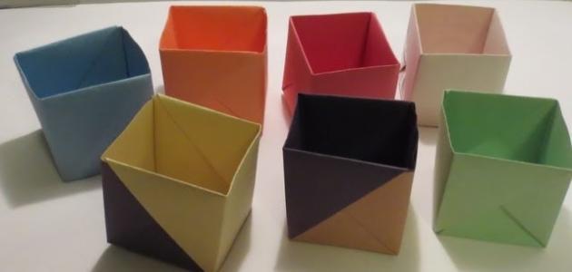 كيف تصنع صندوقاً من الورق