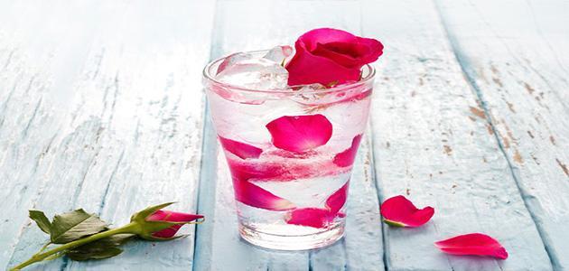 شرب ماء الورد في الصباح