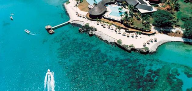 أين تقع جزيرة موريشيوس