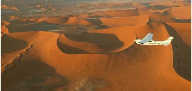 أين تقع صحراء فكتوريا