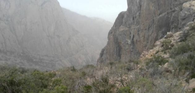 أين تقع جبال السروات موضوع