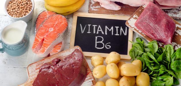 أين يوجد فيتامين ب6