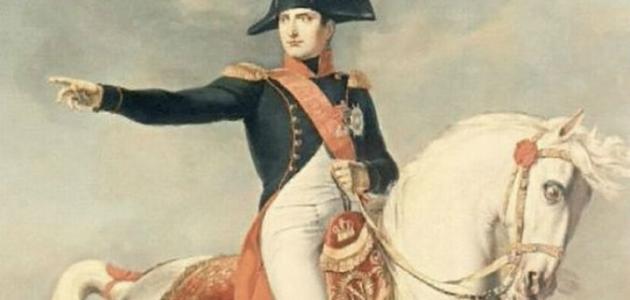أين ولد نابليون بونابرت