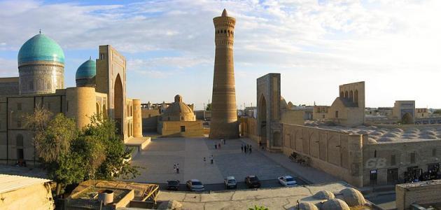 أين تقع مدينة بخارى