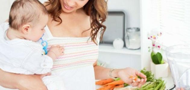 كيف أنحف بعد الولادة