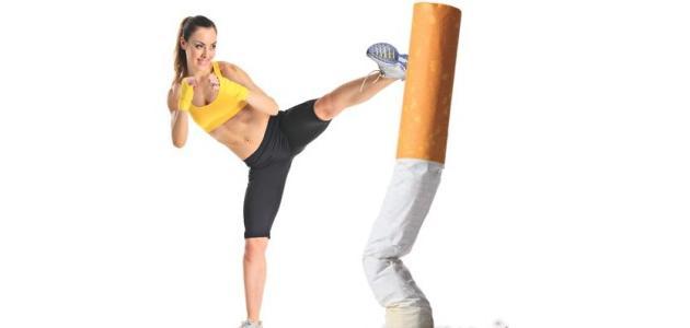 التدخين والرياضة