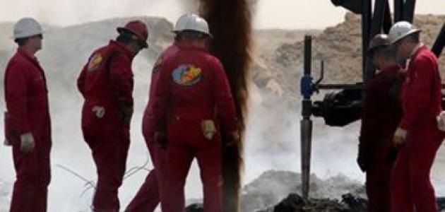 كيف يتم استخراج النفط