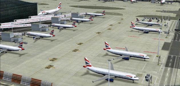 أين يقع مطار هيثرو
