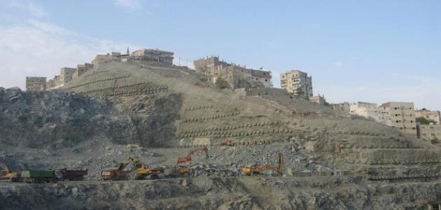 جبل عمر بمكة المكرمة