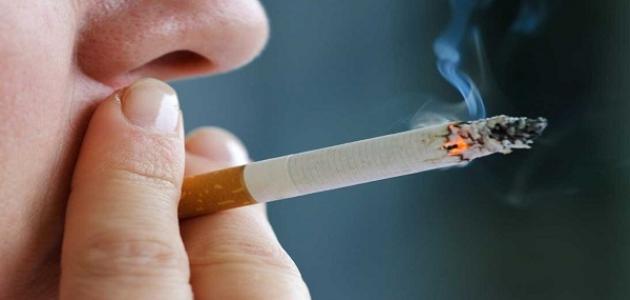 التدخين ينقض الوضوء