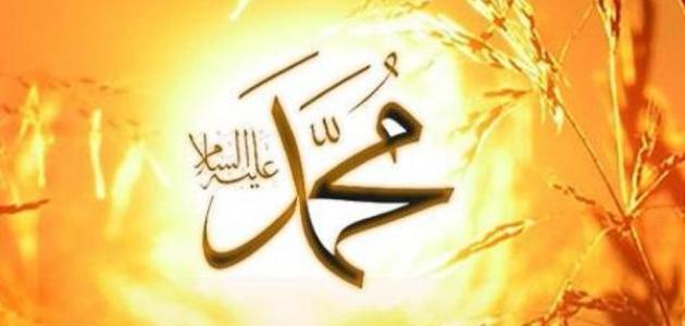 بحث عن شمائل النبي عليه الصلاة والسلام