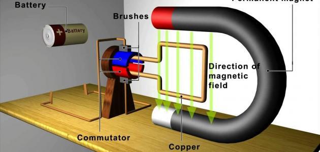 كيف يعمل المولد الكهربائي