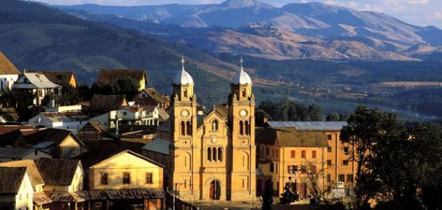 أين تقع مدينة مدغشقر